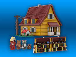 LEGO IDEAS - Tom And Jerry 80th Anniversary House