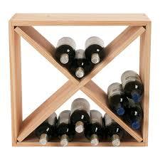 cube wine rack. Plain Rack Cube Wine Rack Natural Preparing Zoom For N