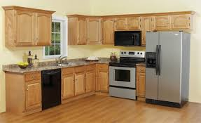 Oak Kitchen Cabinets And Wall Color Ideas For Kitchen Cabinets Kitchen Cabinets Design Ideas Photos