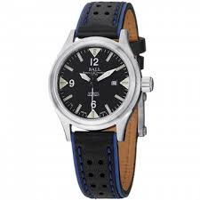 ball watches jomashop ball fireman automatic black dial leather mens watch