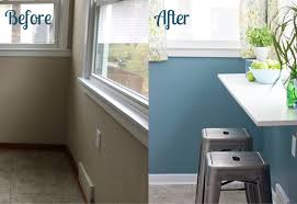 kitchen counter window. What A Great Way To Use Dead Space Under That Window! Super Cute Breakfast Counter Kitchen Window F