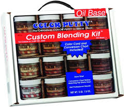 Color Putty Company 09716 Color Putty Blend Kit 16 Colors 3 68 Ounce Jars