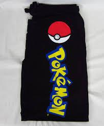 mens womens new pokemon ball black pajama lounge sleep pants size xs s m l xl