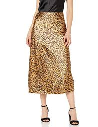 C Meo Collective Womens Polarised A Line Midi Slip Skirt At