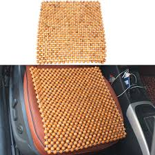1pc classic wooden bead beaded car taxi van chair massage seat cushion cover new