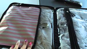my new victoria s secret large hanging travel case i will use it as a make up case you