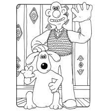 Leuk Voor Kids Wallace En Gromit Kleurplaten
