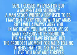 Graduation Quotes For Son Mesmerizing Quotes For Son From Mom For Graduation Google Search Graduation