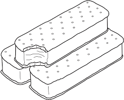 ice cream sandwich coloring pages. Ice Cream Sandwich Coloring Page To Pages