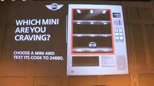 Video Vending Machine Unique Video Mini Goes Retail With Interactive Vending Machine Billboard