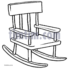 rocking chair drawing. Free Drawing Of Rocking Chair BW From The Category Building Home Tools - TimTim.com N