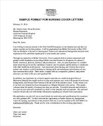 New Nurse Cover Letter Sample Nursing Cover Letter Example 11 Free Word Pdf Documents