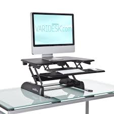 ... Full size of Modern varidesk single plus mid computer table stand up  work table best standalone