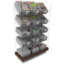 Newspaper Display Stands Adorable Newspaper Shelf Retail Display Stand Shopfit Design Management Ltd