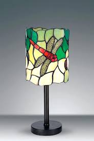 tiffany style dragonfly lamp style dragonfly unique stained glass desk table lamp wide