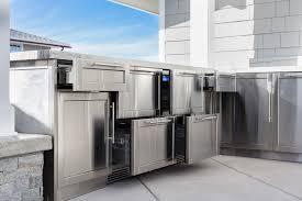 door fabulous stainless outdoor kitchen 5 steel cabinets 1000x1000 fabulous stainless outdoor kitchen 5 steel