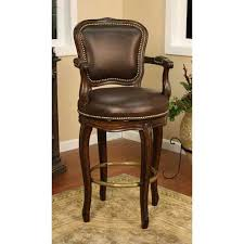 brown leather bar stools. American Heritage Billiards Salvatore Buckeye Bar Stool With Roma Leather Cushion Brown Stools