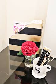 diy office decor. home office magazine fridiy kate spade holders style me samira diy decor