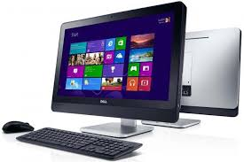 most modern desktop computers have separate screens and keyboards the range of pcs includes dell hp lg sony samsang asus lenovo acer