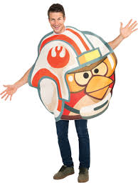 Costumes, Reenactment, Theatre Unisex One Size NEW Adult Angry Birds Star  Wars X-Wing Pilot Costume Size Clothing, Shoes & Accessories vishawatch.com