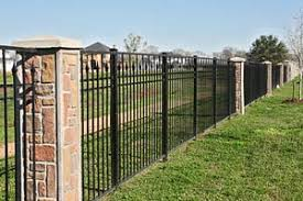 wrought iron privacy fence. Black Iron Privacy Fences - Landscaping Ideas 4,287 Wrought Fence