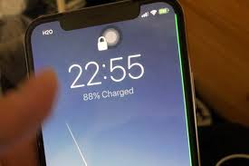 Some iPhone X displays have a nasty green line