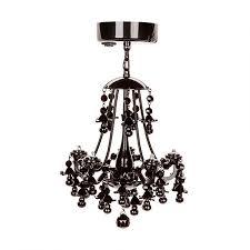delightful black locker chandelier gallery 3