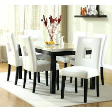 black and white dining room chairs white dining room sets formal black and white dining set
