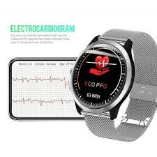 <b>N58 ECG</b> PPG <b>smart watch</b> holter <b>ecg</b> heart rate monitor blood ...