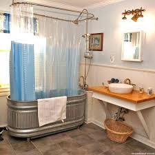 stock tank shower bathtub found on galvanized metal stock tank as a shower bathtub