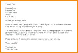 Microsoft Letters Templates Immediate Resignation Letter Template Microsoft Office