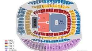 Greene Stadium Seating Chart New Seating Chart Fare Thee Well Grateful Dead 50