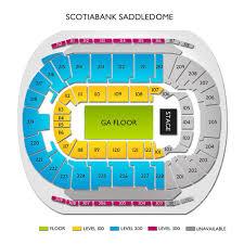 Scotiabank Saddledome 2019 Seating Chart