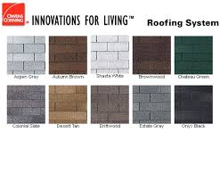 owens corning architectural shingles colors. Inspirations Owens Corning Architectural Shingles Colors With Shingle