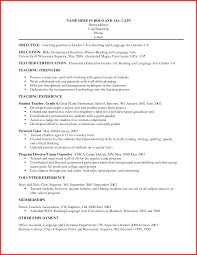 Free Teacher Resume Template Ideas Of Elementary Teacher Resume Profile Fancy Free Professional 91