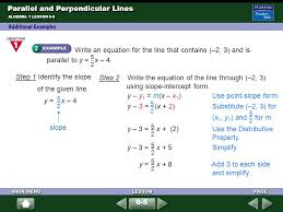 65 parallel and perpendicular lines