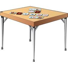 folding game table legs set of 4