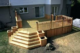 Backyard Deck Design Ideas Awesome Deck Designs Ideas Stunning Wood Patio Decks Home Design Pictures