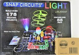 Snap Circuits Light Amazon Com Snap Circuits Light And Battery Eliminator Combo