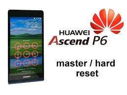 How to Factory Reset Huawei Ascend P6 ...