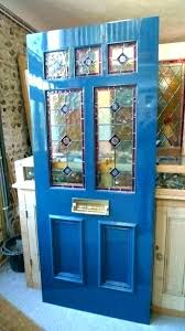 leaded glass front door inserts stained glass door inserts solid stain