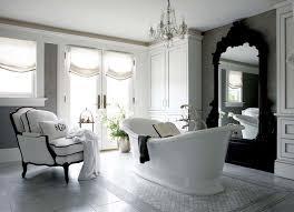 Rococo Decorative Wall Tile Rococo Mirror French bathroom New England Home 20