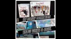 elf disney fall 2016 walgreens snow white and ariel review