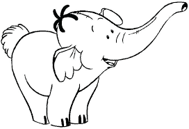 Elephant Color Pages Coloring Page Elephant Animals Printable