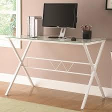 latest white glass office desk coaster 800406 white glass office desk steal a sofa furniture