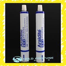 Rtv Silicone Sealant Epoxy Super Glue Aluminum Packaging Tube