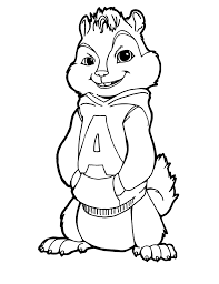 alvin and the chipmunks coloring pages monteplaze me picloud co