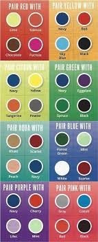 Fashion Colour Chart Pinterest Inspirtations Fashion Infographic Color