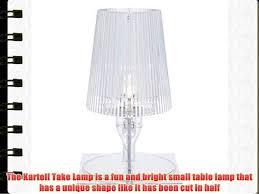 Kartell Take Lamp Crystal H 30 W 185 Cm Depth 175 Cm
