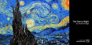 the starry night is a painting of a nighttime scene by the post impressionist artist vincent van gogh